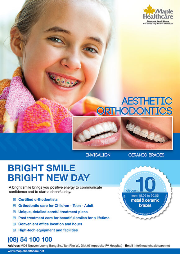 Orthodontics Promotion Maple Healthcare Vietnam