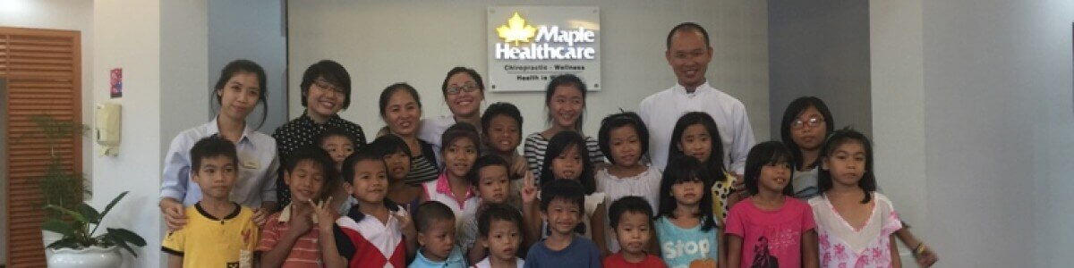Maple Healthcare Vietnam offered free dental treatment for orphans of Mai Tam center