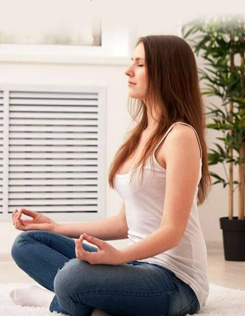 Stress may worsen your pain, so it is necessary you take up a yoga course or practice meditation to stay away from tension