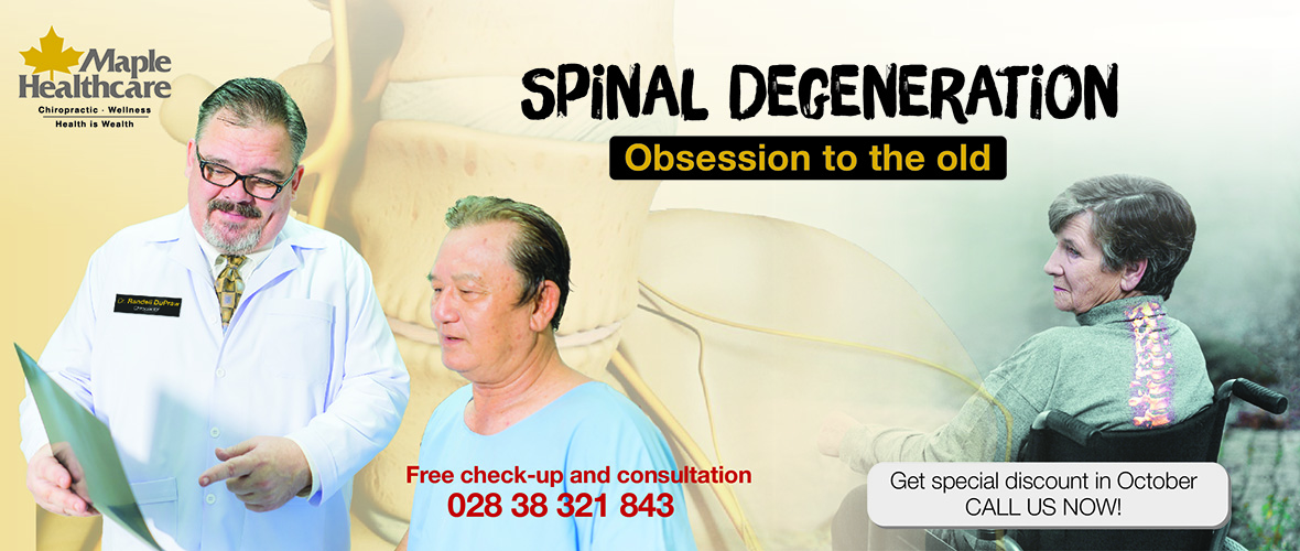 spinal degeneration chiropractic care